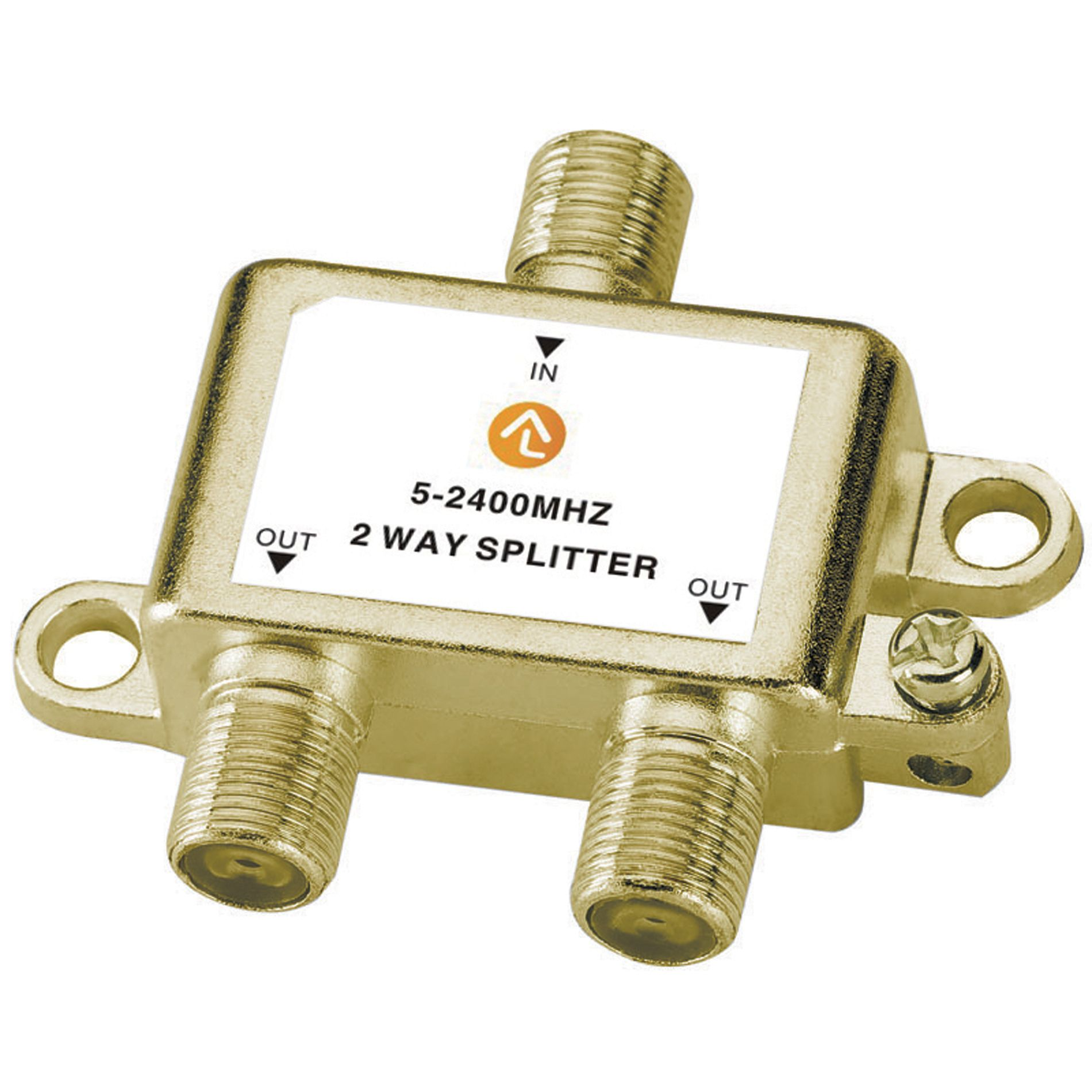 2-Way-Coaxial-Cable-Splitter
