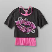 Bongo Girl's Crop Top & Racerback T-Shirt - Love Fashion at Kmart.com