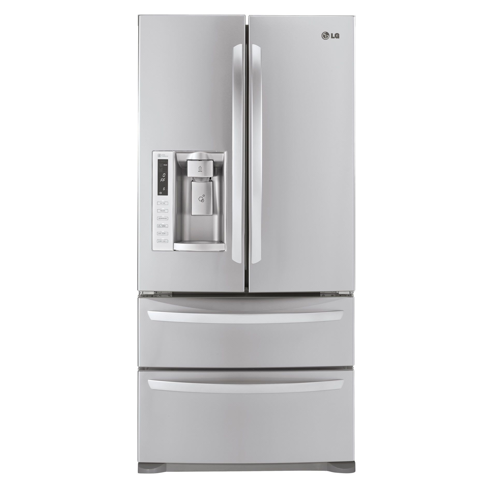 LG 24.7 cu. ft. French-Door Bottom-Freezer Refrigerator at Sears.com