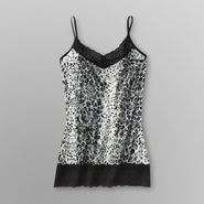 Glo Junior's Sheer Lace Camisole - Leopard Print at Kmart.com