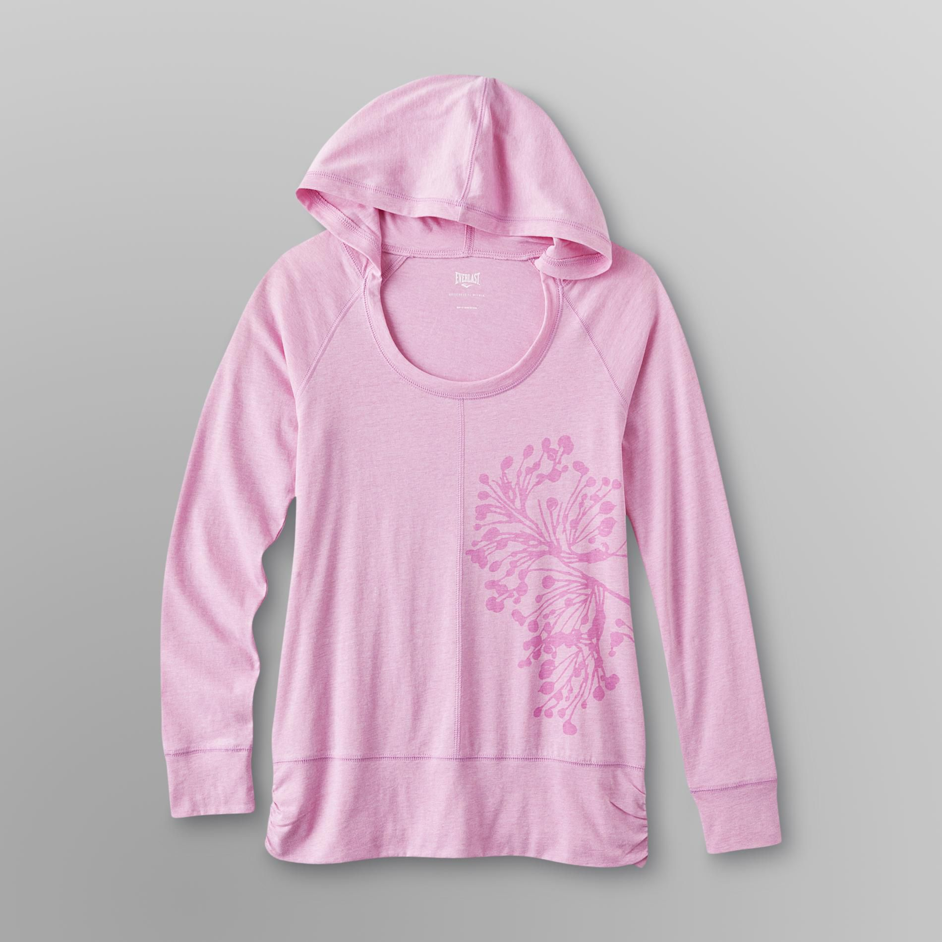 Women's Graphic Hooded T-Shirt
