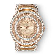 Sofia by Sofia Vergara Women's Watch Glitz Bangle Stone Rose Goldtone at Kmart.com