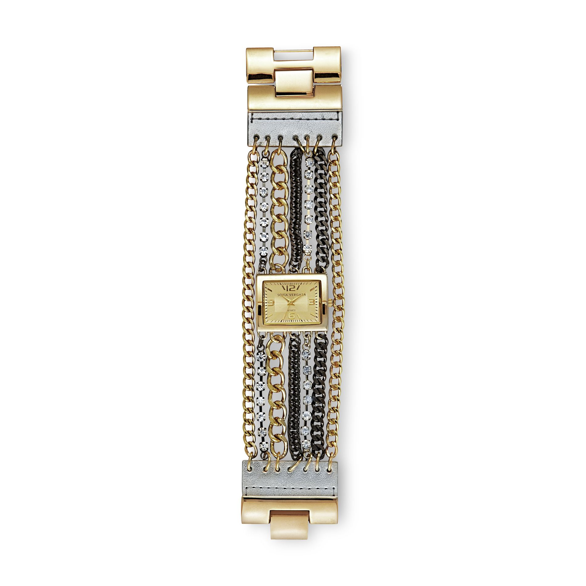 Women's Watch Multi-chain Bracelet Two-tone
