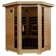 Radiant Sauna™ 3 Person Corner Carbon Infrared Sauna at Sears.com