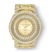 Sofia by Sofia Vergara Women's Watch Glitz Bangle Stone Goldtone at Kmart.com