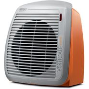 DeLONGHI 1500-Watt Fan Heater - Orange with Gray Face Plate at Sears.com