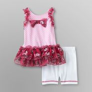 WonderKids Infant & Toddler Girl's Tunic & Shorts - Polka Dot at Kmart.com