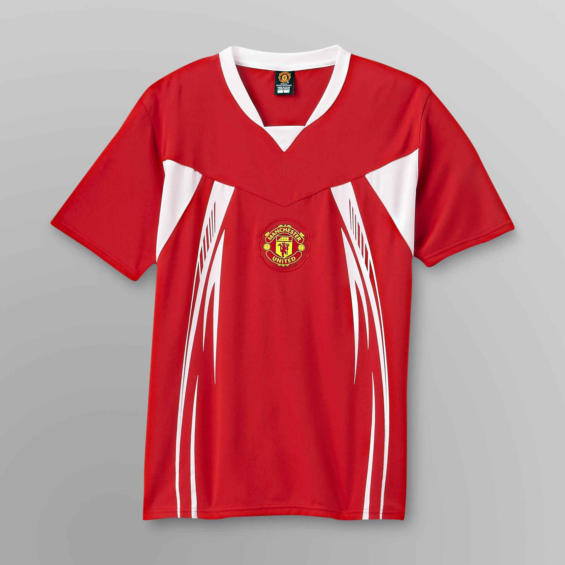 Manchester United Men's Manchester United Home Jersey - Red at Kmart.com