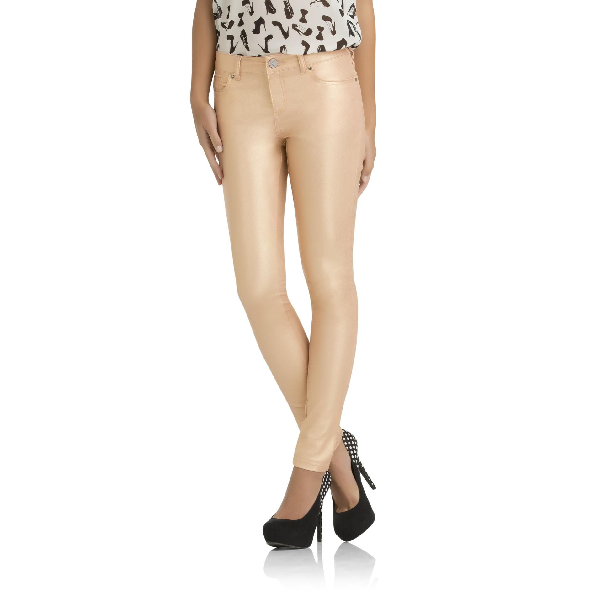 Kardashian Kollection Women's Kim Skinny Twill Pants at Sears.com