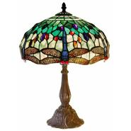 Warehouse of Tiffany Tiffany Style White DragonflyTable Lamp at Sears.com