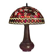 Warehouse of Tiffany Tiffany-style Red Star Table Lamp at Sears.com