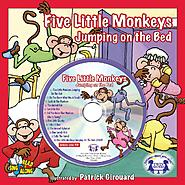 Twin Sisters Productions Five Little Monkeys Jumping On the Bed Read & Sing Along at Kmart.com