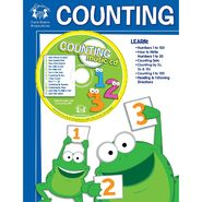 Twin Sisters Productions Counting 48-Page Workbook & Music CD at Kmart.com