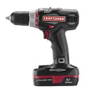 Craftsman C3 Compact 1/2-In Drill Kit with two Lithium Ion Batteries at Kmart.com