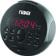 Naxa PLL Digital Alarm Clock with AM/FM Radio & Snooze at Kmart.com