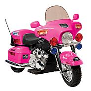 Kid Motorz Patrol H. Police in Pink at Sears.com