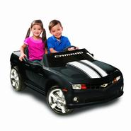 Kid Motorz Chevrolet Racing Camaro Two Seater in Black 12V at Kmart.com