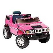 Kid Motorz Hummer H2 One Seater in Pink 6V at Sears.com