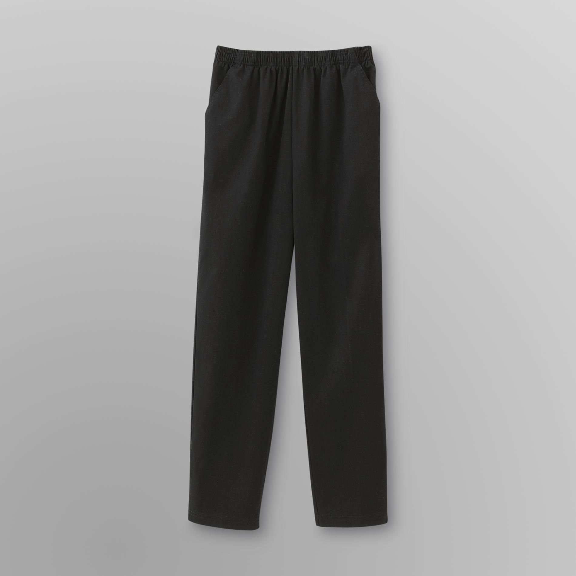 Laura Scott Women's Twill Stretch Pants at Sears.com