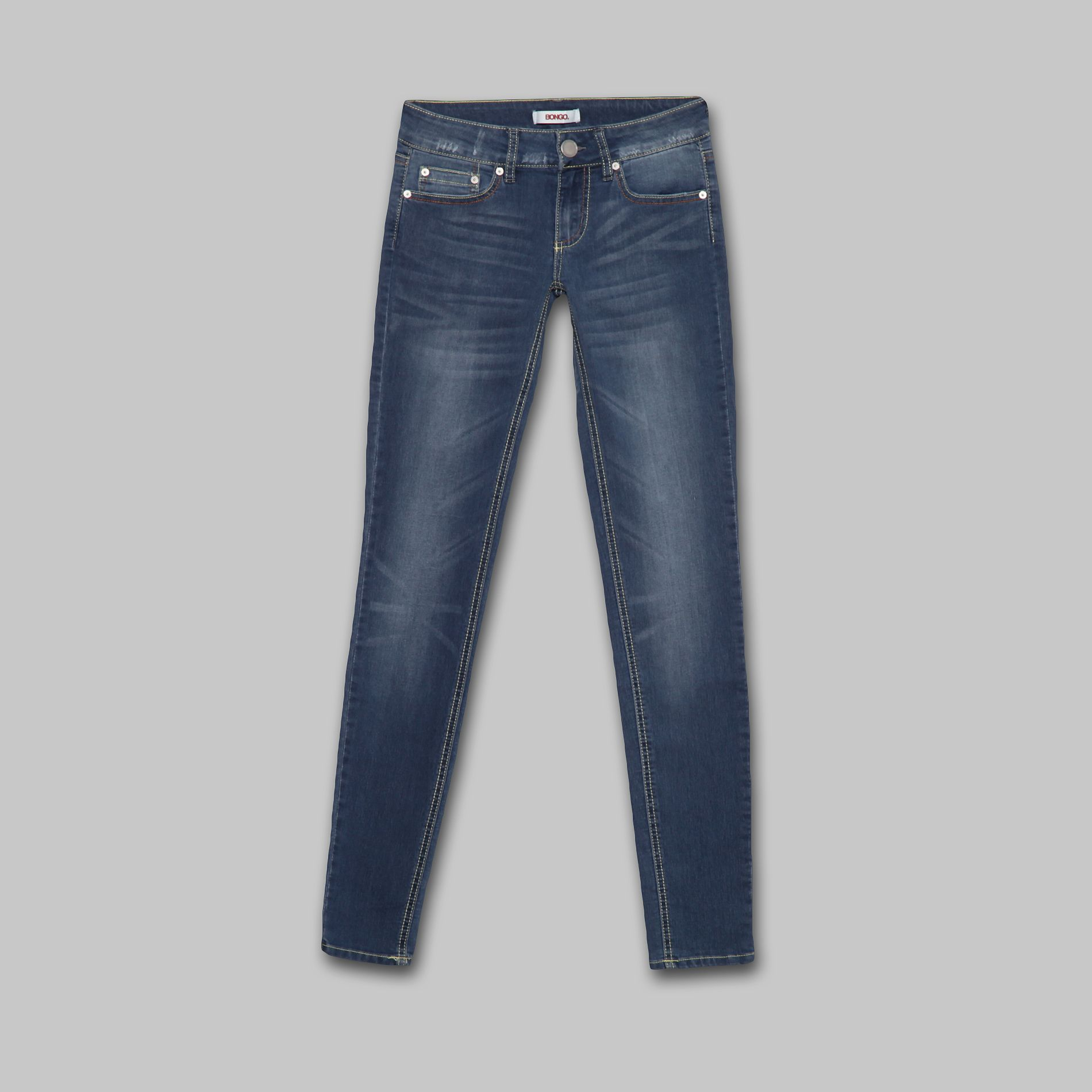 Bongo Junior's Jeans Skinny 'Second Skin' Light Rinse at Sears.com