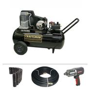 Craftsman Professional 25 Gallon Horizontal Portable Air Compressor Bundle at Sears.com