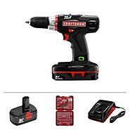 Craftsman 19.2-volt C3 Compact Lithium-Ion Cordless Compact Drill-Driver and Accessories Bundle at Craftsman.com