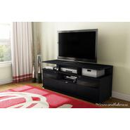 South Shore City Life II TV Stand Black Oak at Kmart.com