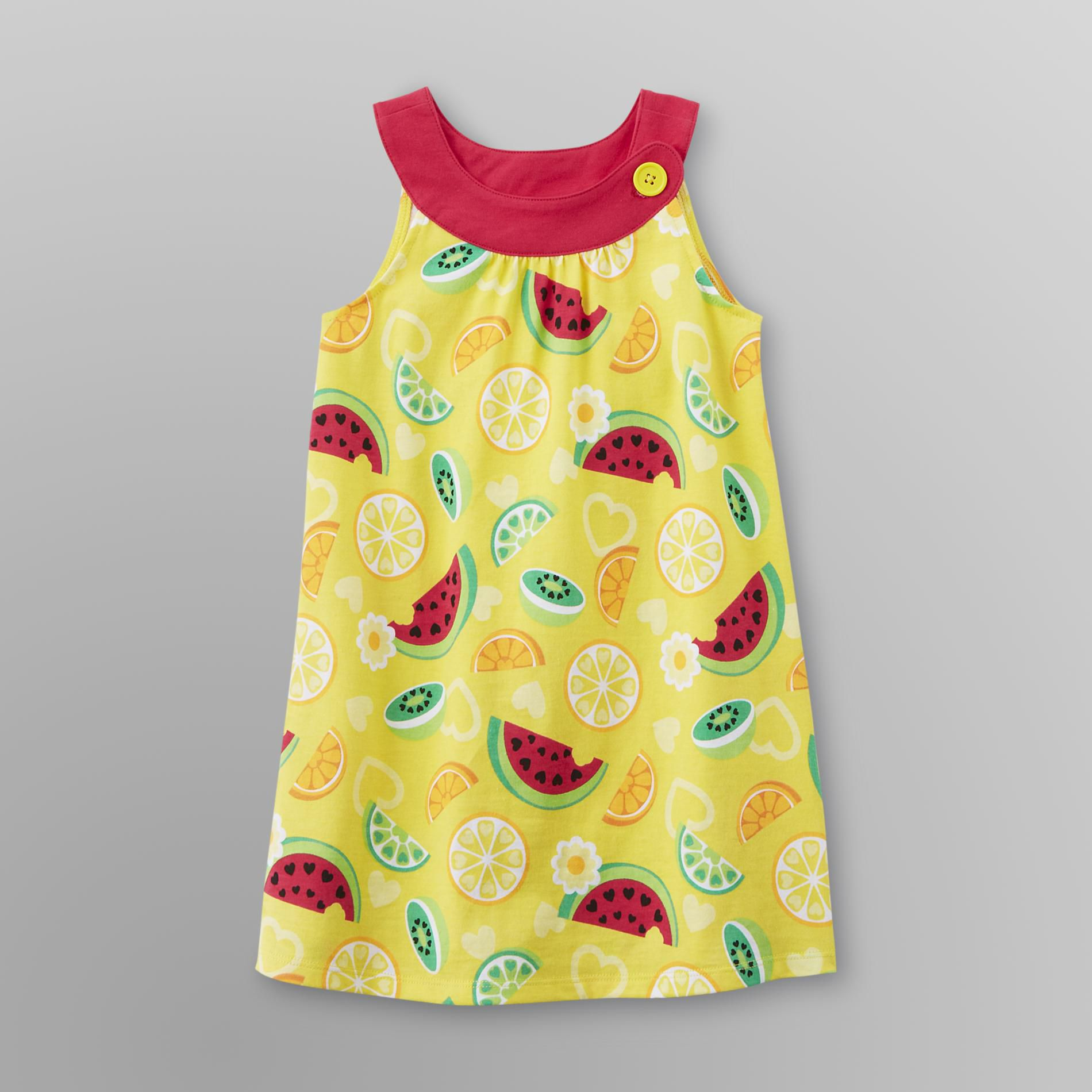 Infant & Toddler Girl's Watermelon Trapeze