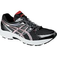 Asics Men's GEL-Contend Running Athletic Shoe - Black/Silver/Red at Sears.com