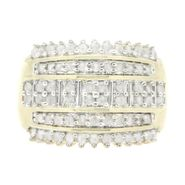 Gold Plated 1.00cttw Diamond Ring at Sears.com