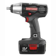 "Craftsman C3 19.2-Volt Cordless 1/2"" Impact Wrench Kit 17339 at Sears.com"