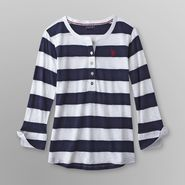 US Polo Assn. Junior's Henley Shirt - Striped at Sears.com