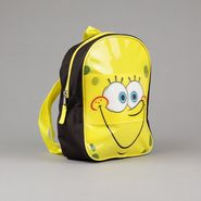 Nickelodeon Boy's Backpack Mini SpongeBob Zipper Closure Yellow/Black at Kmart.com