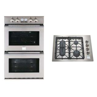 Kenmore Pro-Double Electric Wall Oven with matching Cooktop