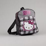 Hello Kitty Girl's Mini Backpack Houndstooth Black/White at Sears.com