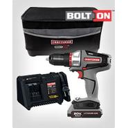 Craftsman Bolt-On ™ 20 Volt MAX* Drill Driver Kit and Bag Bundle at Sears.com