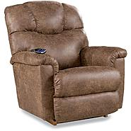 La-Z-Boy Palance Silt Color Power Recliner at Sears.com