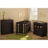 South Shore Savannah collection Changing Table and Door Chest kit Espresso at Kmart.com