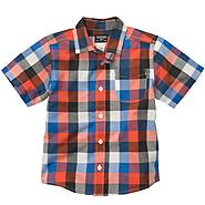 OshKosh Boy's Shirt Plaid Short Sleeve at Sears.com