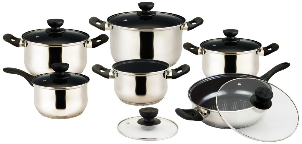 Vinaroz  Vieste series 12 pc Stainless