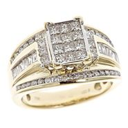 Tradition Diamond 1 1/2 cttw Diamond Bridal Ring 10k Yellow Gold at Sears.com