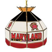Maryland University 16 inch Stained Glass Tiffany Style Lamp at Sears.com