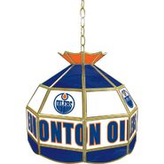 NHL Edmonton Oilers 16 inch Stained Glass Tiffany Style Lamp at Sears.com