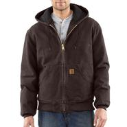 Carhartt, Inc Quilted Flannel Lined Sandstone Active Jac at Sears.com
