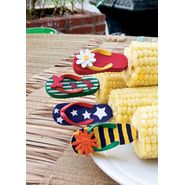 Charcoal Companion Corn Holders - Flip Flops / 4 Sets at Sears.com