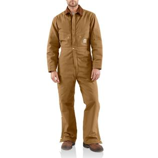 Carhartt Inc Quilt Lined Duck Coveralls Clothing Men s Pants from sears.com