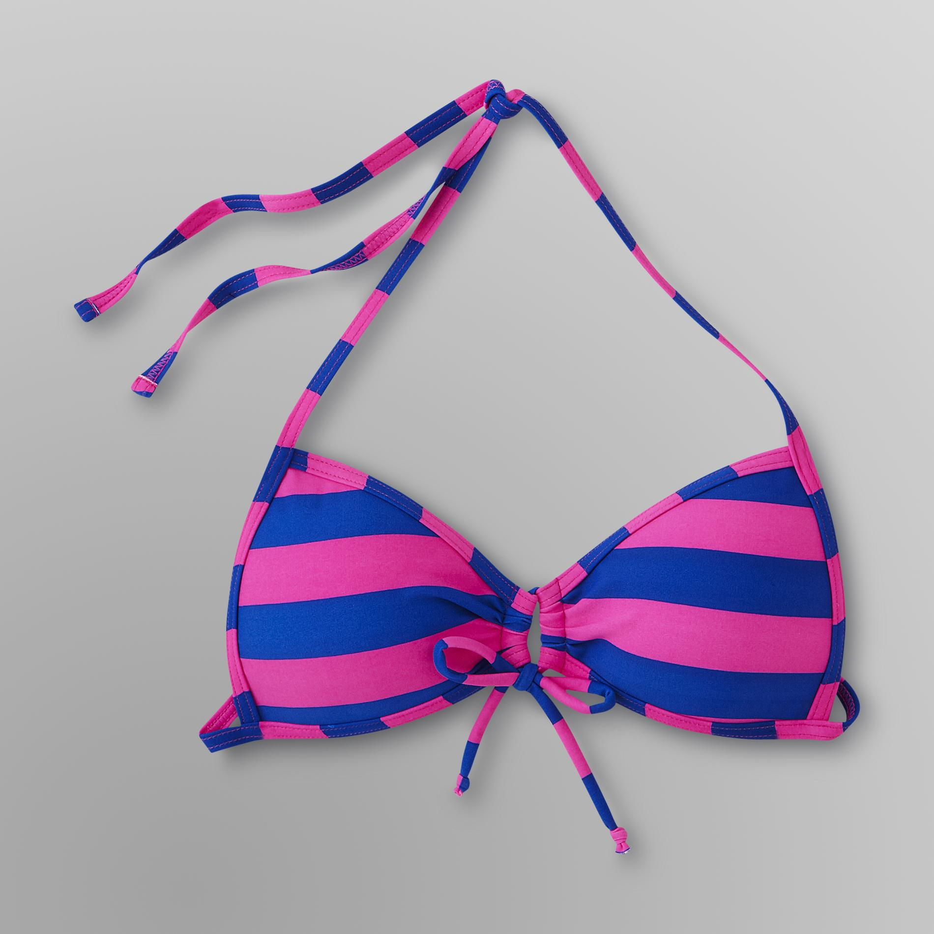 Joe Boxer Junior's Push-Up Bikini Top -  Striped at Kmart.com