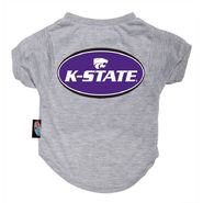 Dog Zone NCAA Pet T-Shirt--Gray-Kansas State U. at Kmart.com