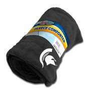 Dog Zone NCAA Pet Fleece Comforter-Black-Michigan State University at Kmart.com