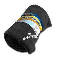 Dog Zone NCAA Pet Fleece Comforter-Black-Kansas State University at Kmart.com